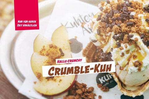Saisonbecher Crumble-Kuh